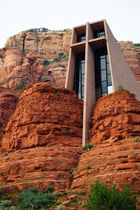 Chapel of Holy Cross in Sedona, Arizona, September 2012.