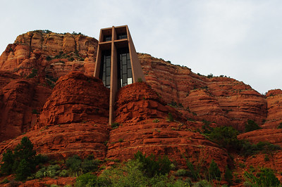 Chapel of Holy Cross in Sedona, Arizona, September 2012.