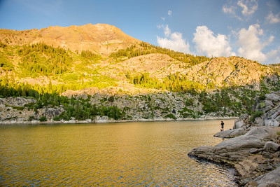 Relief Reservoir, Stanislaus National Forest/ Emigrant National Forest, July 2015.