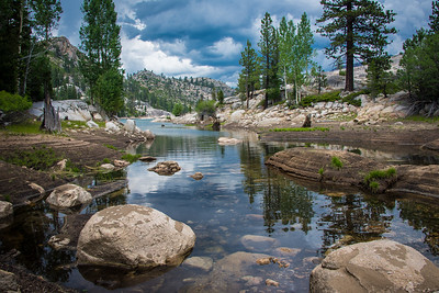 Relief Reservoir, Stanislaus National Forest/ Emigrant Wilderness, July 2015.