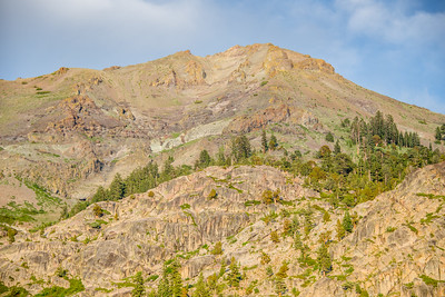 Peak east of Relief Reservoir, Stanislaus National Forest/ Emigrant Wilderness, July 2015