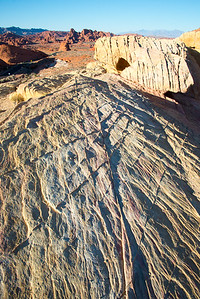 White Dome, Valley of the Fire State Park, Nevada, January 2015.