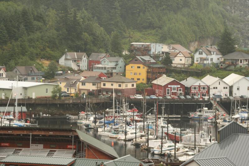 Ketchikan - typical Alaskan village?