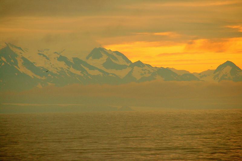 Day 4 dawns beautifully at sea, as we head toward Hubbard Glacier, having left Ketchikan the night before..