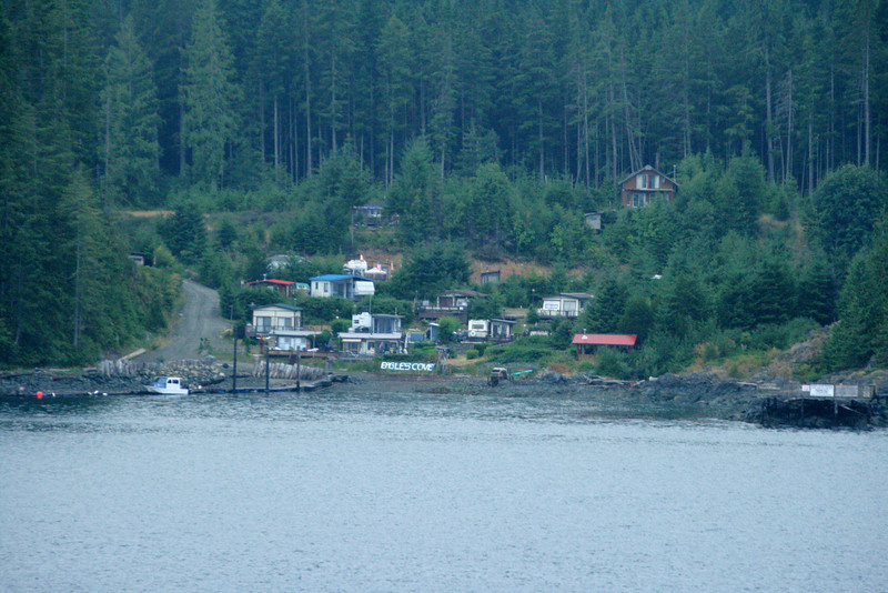 . . and start up the long inside passage.  Typical sight (TS) 1.