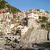 Town 2 (Manarola).  We actually arrived here first,  . . . .
