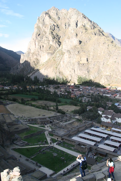 View from Temple of Sun