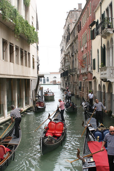 """We pause for a few of the required """"gondola shots"""".  :-)"""