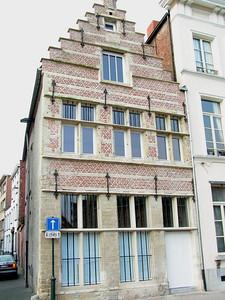 """""""Outlaw"""" uit 1639, in De Hoogstraat."""