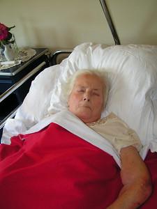 Mijn moeder (83): Rust-en verzorgingstehuis Ter Linde, Vilvoorde.  (oorzaak: dement, kan thuis niet meer verzorgd worden door mijn vader (84) en ze krijgt ook nog sonde-voeding, omdat ze niet wil eten)