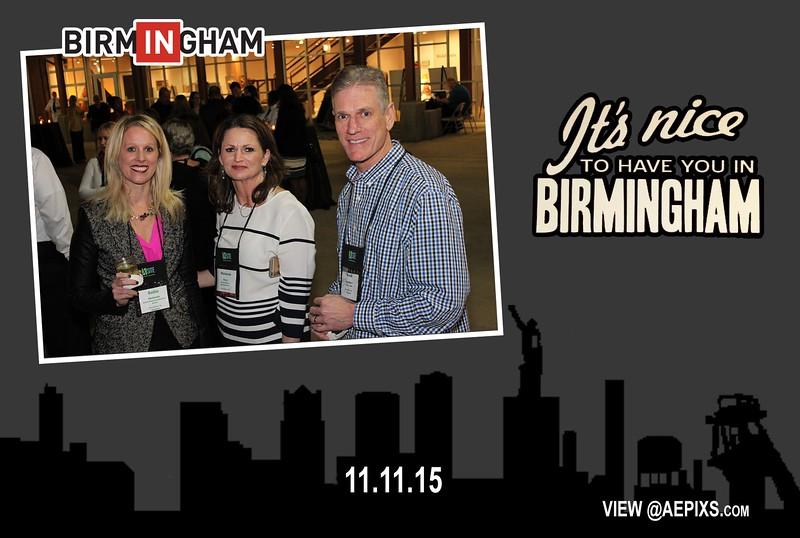 Birmingham Convention & Visitors Bureau XSite Reception 2015
