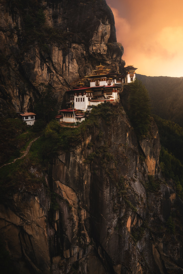 Sunset at Tigers Nest