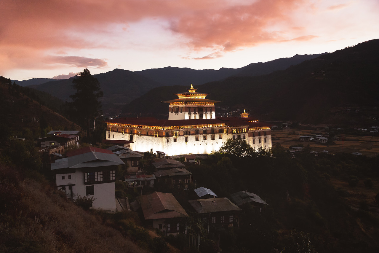 Ring Tzong Paro Sunset