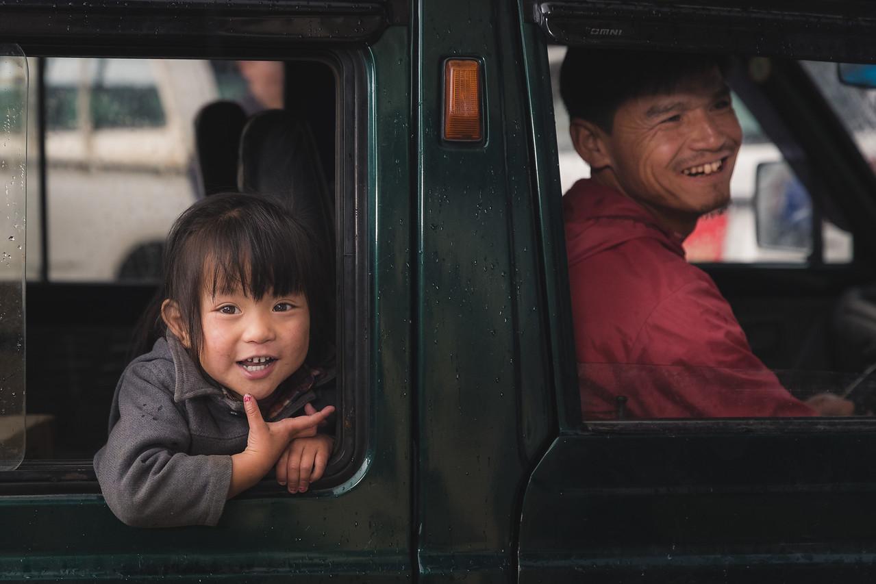 Girl in Paro, Bhutan