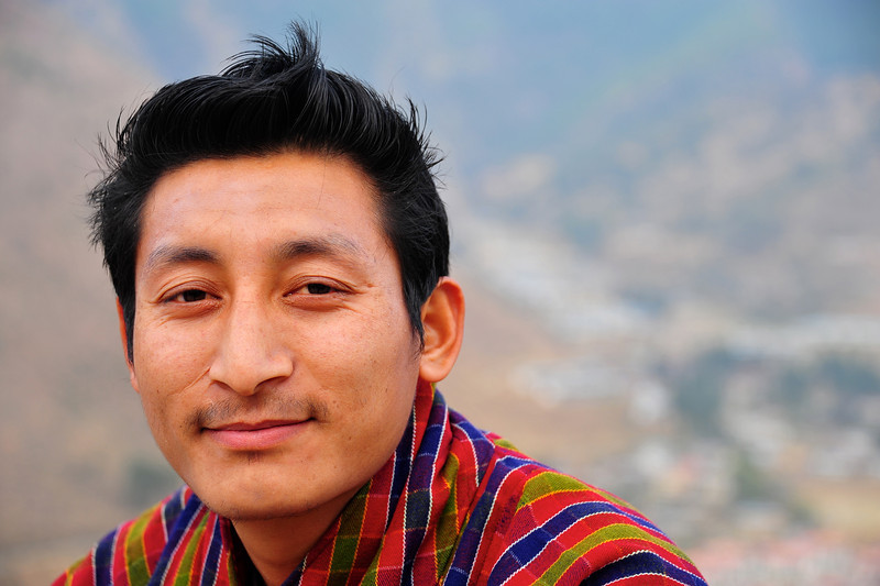 Namgay Wangchuk - our very safe driver
