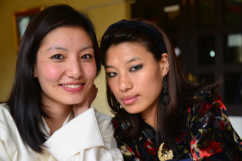 Mindu from Druk Asia & Rinxin at The Orchid,Thimphu
