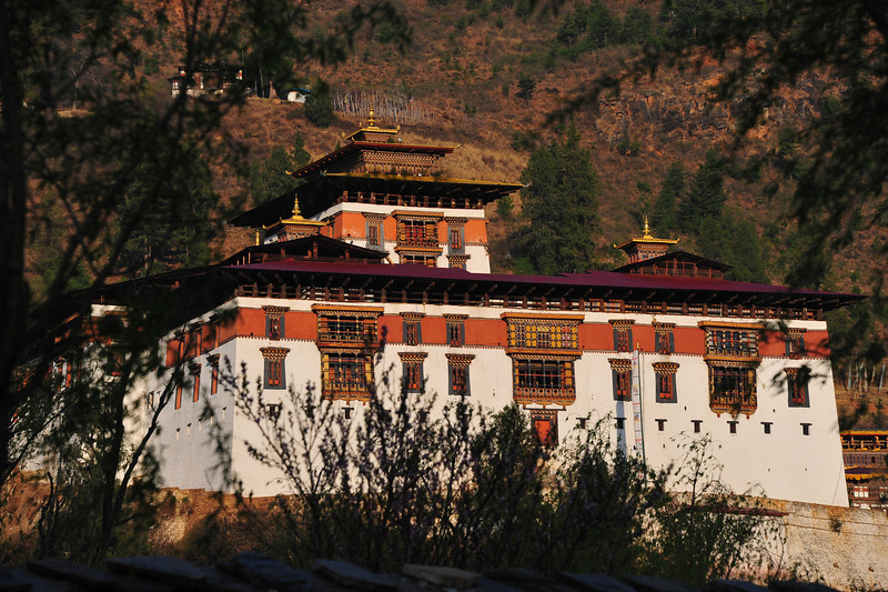 Paro Dzong - most of the Dzongs are a combination of government offices and monastery