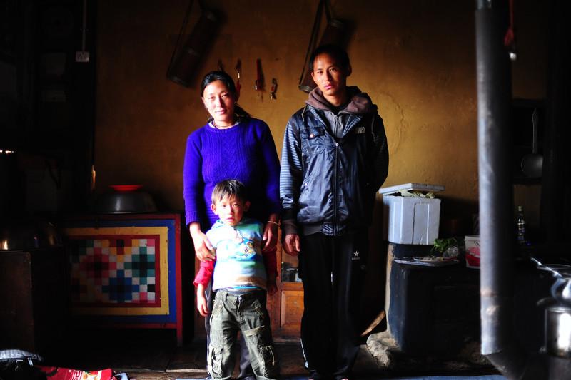 Farmer's family