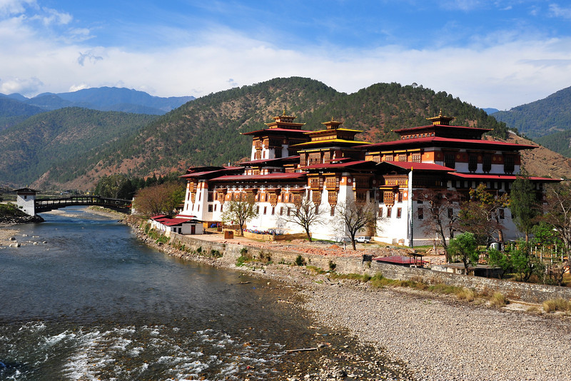 Punakha Dzong...another breathtaking moment