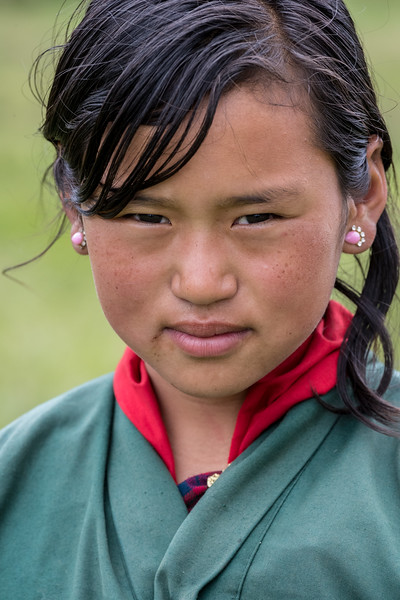 Bayta Primary School, Gangtey, Bhutan. One of the older students.