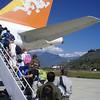 leaving Paro airport or Druk air