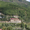 our hotel, the Riverview, in Thimphu