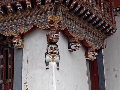 Architectural detail Gantey Monastery