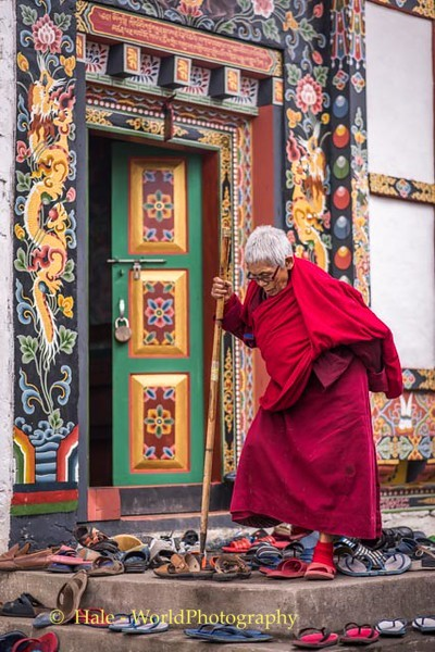 Exiting the Temple - 3