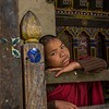 A Shy Young Monk