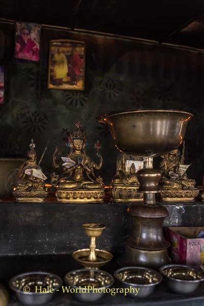 Shrine at Kori La Pass, Bhutan