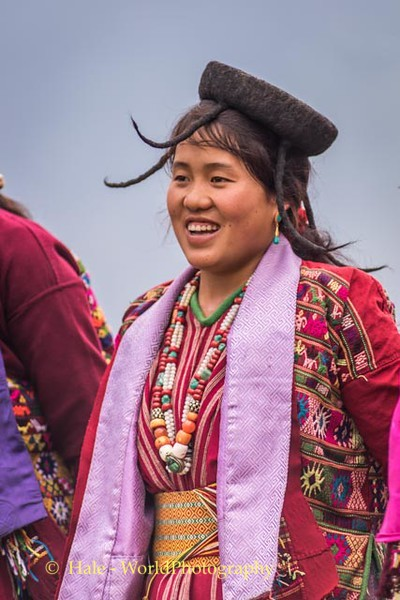 Brokpa Woman with Shamo