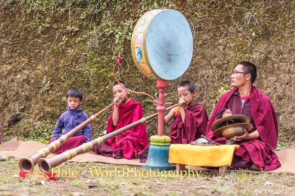 Monk Musicians - 1