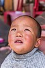 Young Bhutanese Boy Reacts to Passing Helicopter