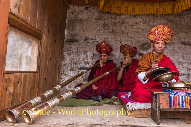 Tshechu Musicians - 1