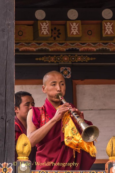 Monk and Trumpet