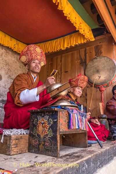 Tshechu Musicians - 4