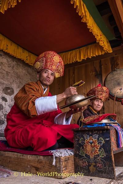 Tshechu Musicians - 3
