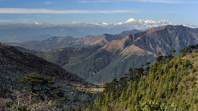 Northwestern mountain range, Bhutan