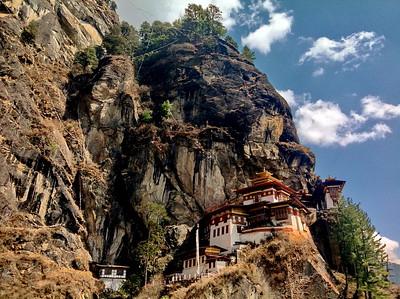 Путешествие в Бутан. Паро и окрестности. Март 2016 год