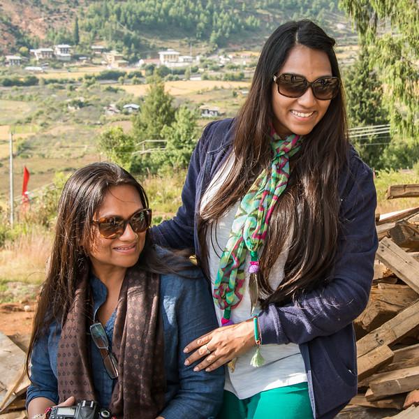 Anjni and Chandni Patel