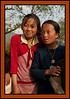 School girls - near Jakar, Bhutan