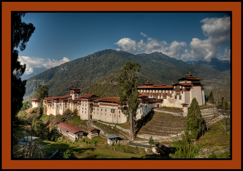 Trongsa Dzong - A monastery and administrative center