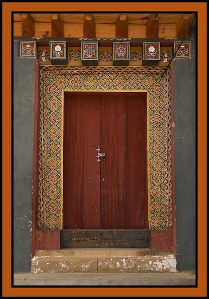 Gangtey Monastary, Phobjikha valley, Bhutan