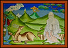 Temple Mural Painting, Trongsa Dzong