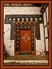 Doorway, Trongsa Dzong