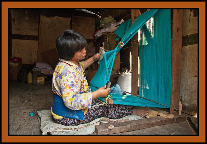 Weaver, Chuzomsa, Bhutan