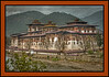 Punakha Dzong - massive fortress/monastery constructed in the mid-1600s