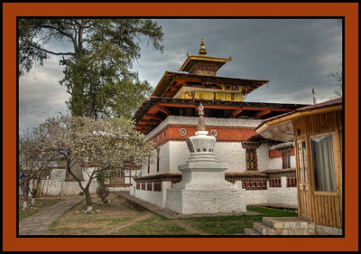 Kyichu Lakhang, Buddhist temple. 8th century, built by the king Songsten Gampo. Paro, Bhutan.