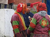 Clowns at Chukhha Festival, Bhutan
