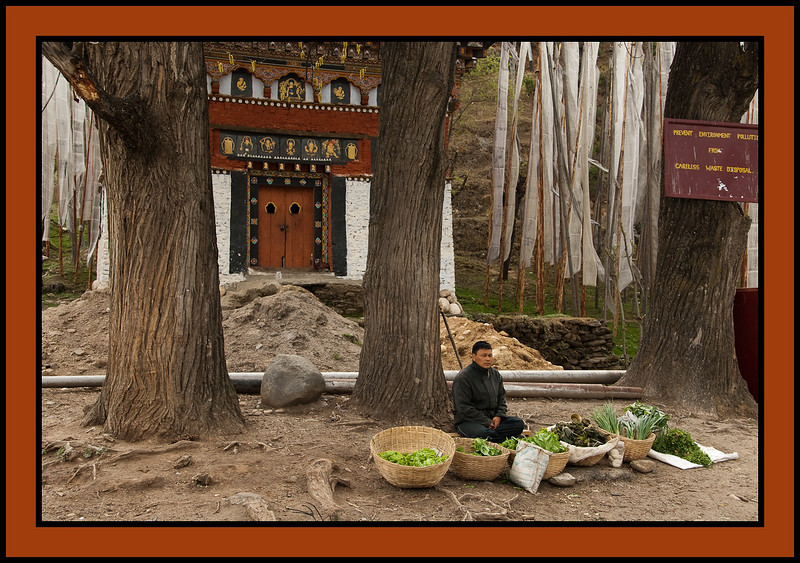 near Jakar, Bhutan
